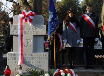 Na cmentarzu Kule w Częstochowie uczczono wojenną bohaterkę