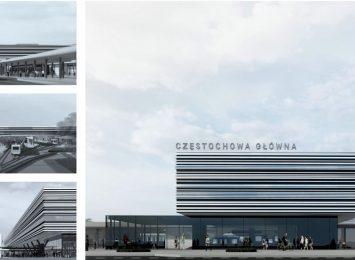 Znamy projekt nowego dworca PKP w Częstochowie