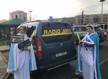 Śnieżynki Radia Jura tym razem odwiedziły Promenadę Czesława Niemena [FOTO]