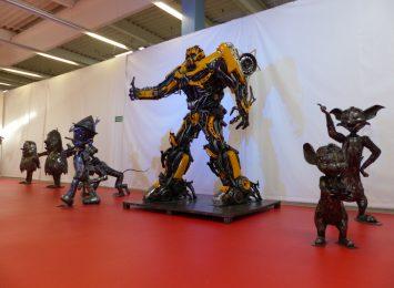 Nadal można zwiedzić Galerię figur Stalowych w Centrum Handlowym M1