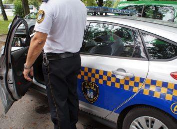 Straż Miejska zatrzymała mężczyznę, który podpalił dwa rowery
