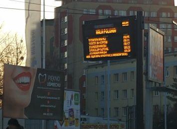 50 cyfrowych tablic z informacją pasażerską uruchomiono testowo w naszym mieście