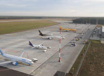 Samolot z towarami medycznymi ponownie w Pyrzowicach