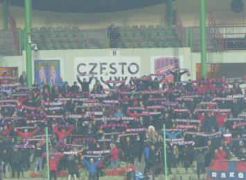 Raków zanotował porażkę w meczu przeciwko Zagłębiu Lubin