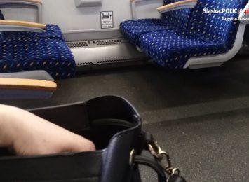 Zuchwała kradzież w pociągu