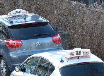 Taksówkarze we własnym zakresie dbają o bezpieczeństwo w trakcie przejazdów