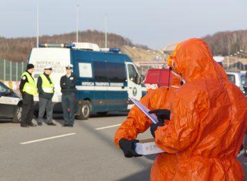 Rozpoczęły się prace związane z budową szpitala tymczasowego na lotnisku w Pyrzowicach