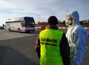 Kontrole sanitarne na granicy z Niemcami i Czechami