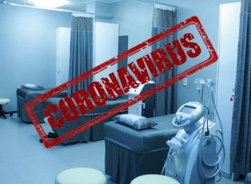 Mniej łóżek dla pacjentów zakażonych koronawirusem na Śląsku