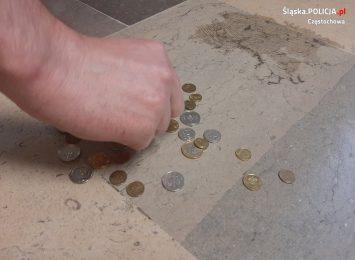 Włamał się do Kościoła i próbował ukraść pieniądze ze skarbonki