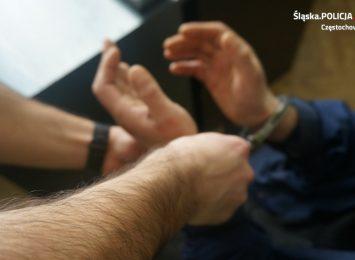 Włamywacze, którzy grasowali w Poczesnej wpadli w ręce policjantów