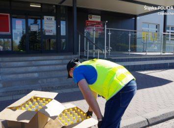 Policjanci przekazali służbom medycznym ponad 100 litrów alkoholu przemysłowego