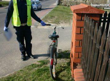 Potrącił rowerzystkę i uciekł, jest już jednak w rękach kłobuckiej policji