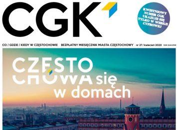 Miejskie pismo CGK i jednocześnie informator z życia Częstochowy, tym razem tylko w wersji cyfrowej
