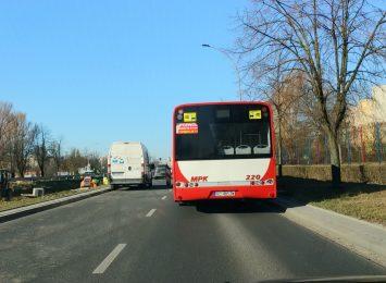 Przystanek przy ulicy Iwaszkiewicza zawieszony w związku z przebudową linii tramwajowej