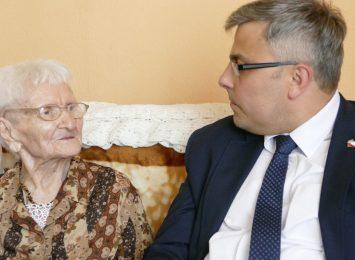 Jak się ma najstarsza Polka? 113- latka mieszka w Gliwicach