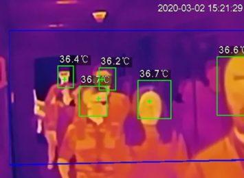 Dzięki sponsorowi, MSZ na Zawodziu mierzy temperaturę pacjentom przy pomocy specjalnej kamery