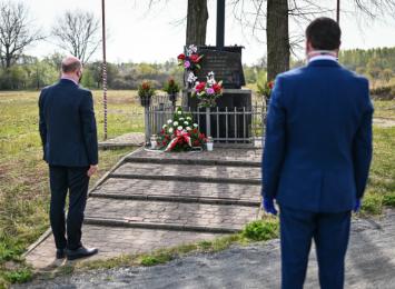 W kalendarzu 24 kwietnia: dziś 76 rocznica egzekucji zakładników w Gnaszynie