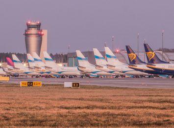 Lotnisko Pyrzowice liczy straty w liczbie podróżnych w pierwszym kwartale. Transportuje głównie towary, przybywa czarterów