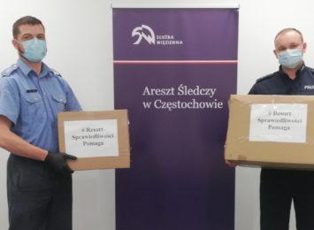 Więźniowie ze śląskich zakładów karnych i aresztów śledczych szyją maseczki dla policjantów i pracowników całego śląskiego garnizonu Policji
