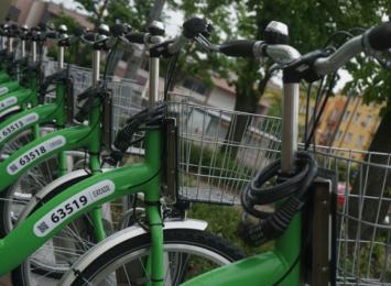 Przybywa zimowych pytań użytkowników o rowery miejskie, które wrócą na wiosnę