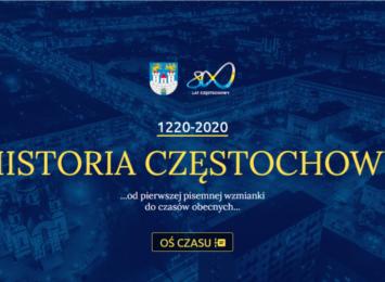 Specjalna strona o historii Częstochowy na 800 lat istnienia miasta