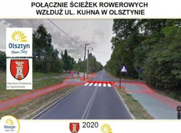 Nowoczesne przejście dla pieszych w Olsztynie dla poprawy bezpieczeństwa