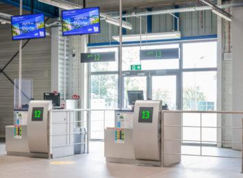 Lotnisko w Pyrzowicach z dodatkowym terminalem pasażerskim [FOTO]