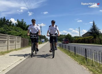 Dzielnicowi na rowerach czuwają nad bezpieczeństwem w Częstochowie