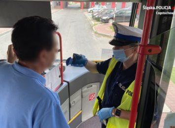 Policyjne kontrole również w komunikacji miejskiej