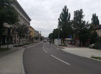 Nowa droga rowerowa przy ul. Piłsudskiego