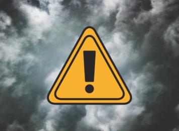 Do piątku do północy obowiązuje żółty alert przed burzami w regionie