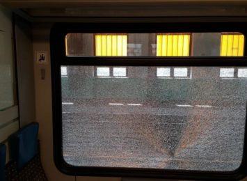 Kto rzuca kamieniami w pociągi Kolei Śląskich?