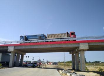 Rondo i wiadukt drogowy na węźle Mykanów już przejezdne