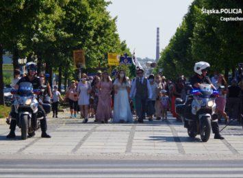 Częstochowska policja podsumowała pierwszą część szczytu pielgrzymkowego