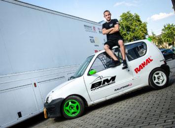 W tym sezonie wyścigowym Bartłomiej Mirecki zawalczy w Mistrzostwach Polski Rallycross