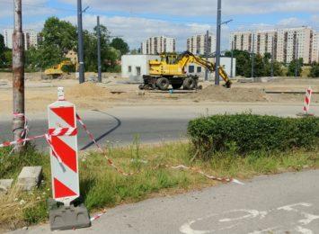 Przebudowa linii tramwajowej rośnie w oczach?