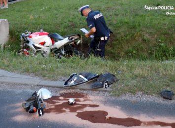 Do dwóch groźnych wypadków z udziałem motocyklistów doszło w powiecie kłobuckim