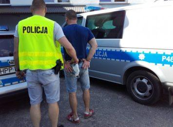 Uciekał przed policja, potrącił mundurowego