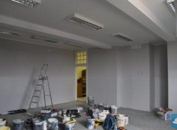 Remonty w szkołach i przedszkolach w Kłobucku trwają