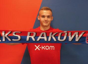 RKS Raków podpisał kontrakt z kolejnym nowym zawodnikiem