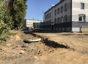 Drogowcy intensywnie pracują w dzielnicy Trzech Wieszczów