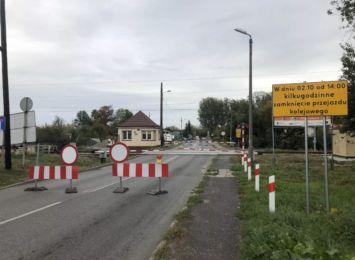 PKP zapowiada kolejne prace na przejeździe kolejowym przy ul. Bugajskiej