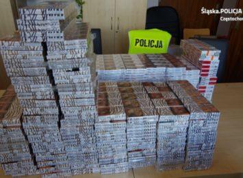 Lewe papierosy na wielką skalę i udana akcja policjantów