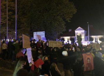 Policja podsumowała poniedziałkowe (26.10) wydarzenia