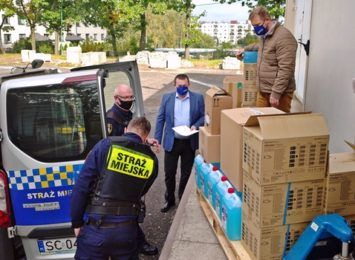 Kolejne środki ochrony dostali strażnicy miejscy