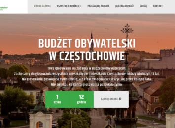 Zakończyło się głosowanie w ramach 7 edycji częstochowskiego budżetu obywatelskiego