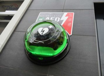 AED w dostępne w centrum miasta