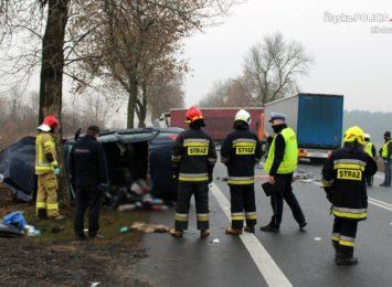 Nie żyje kierowca z wypadku w Opatowie