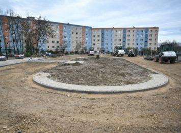 Nowy tor speedrowerowy i boisko na Wrzosowiaku